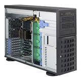 Supermicro CSE-745BTQ-R1K28B-SQ SuperChassis SC745BTQ-R1K28B-SQ 4U Rack-mountable Tower System Case