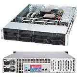 Supermicro CSE-825TQ-R740LPB SuperChassis 825TQ-R740LPB (Black) 2U Server Case