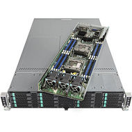 Intel VRN2224THY4 2U Rack-mountable Barebone - C612 Chipset - Socket R3 LGA-2011 - 8 x CPU Support