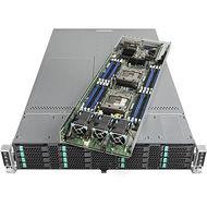 Intel VRN2224THY6 2U Rack-mountable Barebone - C612 Chipset - Socket R3 LGA-2011 - 8 x CPU Support