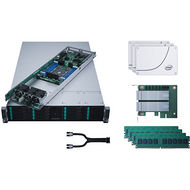 Intel LADMP2312KXXX42 2U Rack Server - 4 x Xeon Phi 7250 68 Core 1.40 GHz - 384 GB DDR4 SDRAM