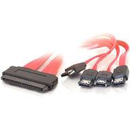 C2G 10251 1m SAS 32-pin to Four External Serial ATA Cable