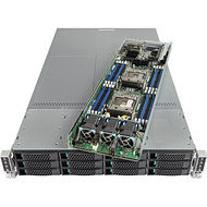 Intel MCB2312WHY2 2U Rack Server - 2 x Xeon E5-2660 v4 14 Core 2 GHz - 256 GB Installed DDR4 SDRAM