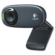 Logitech 960-000585 C310 Webcam - Black - USB 2.0 - 1 Pack(s)