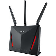 ASUS RT-AC86U DUAL BAND WIRELESS ROUTER AC2900 WIFI WITH 4-PORT GIGABIT LAN, 1.8