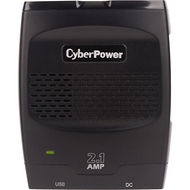 CyberPower CPS175SURC1 Mobile Power Inverter 175W with 2.1A USB Charger - Slim Line Design