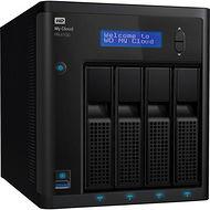 WD WDBNFA0400KBK-NESN My Cloud Pro PR4100 40TB Capacity 4-Bay NAS Server