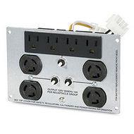 APC SUA028RM Backplate Kit W/(4) L5-15R & (4) 5-15R for Smart-UPS 2200 & 3000VA 3U-5U