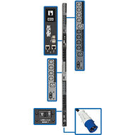 Tripp Lite PDU3EVSR6G60 14.5KW 3-PHASE SWITCHED PDU, LX INTERFACE, 200/208/240V OUTLETS (24 C13/6 C19),