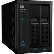 WD WDBBCL0200JBK-NESN My Cloud Pro PR2100 20TB Capacity 2-Bay NAS Server