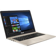 "ASUS N580VD-DS76T VivoBook Pro 15 15.6"" Touchscreen LCD Notebook - Intel Core i7-7700HQ 4C 2.80 GHz"