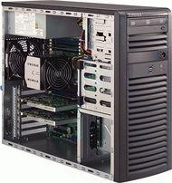 Supermicro SYS-5038A-I 3U Mid-tower Barebone - Intel C612 Chipset - Socket R3 LGA-2011 - 1 x CPU