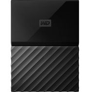 WD WDBP6A0040BBK-WESE My Passport for Mac 4 TB External Solid State Drive - Portable