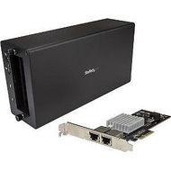 StarTech BNDTB310GNDP NIC & CHASSIS - TB3 TO 2-PORT 10GBE