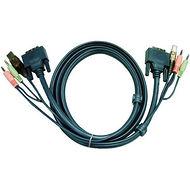 ATEN 2L7D03UI 10 DVI-I DUAL LINK KVM CABLE