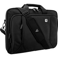 """V7 CCP17-BLK-9N Professional Carrying Case (Briefcase) for 17.3"""" Notebook, Smartphone, Accessories"""