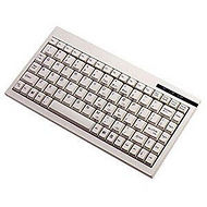 Adesso ACK-595PW Mini Keyboard with Embedded Numeric Keypad (PS/2, White)