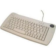 Adesso ACK-5010PW Mini-Trackball Keyboard (White PS/2)