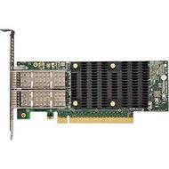 Chelsio T62100-CR 2-Port 40/50/100GbE Half Size UWire Adapter, Enhanced TOE & iSCSI, PCI-E x16