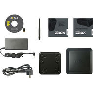 ZOTAC ZBOX-QK5P1000-U NVIDIA Quadro P1000-Intel Core i5-7200U 2.5 GHz-Mini PC