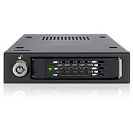 "ICY DOCK MB601VK-B Internal Drive Bay Adapter for 3.5"" SAS, Serial ATA - Matte Black"