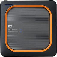 WD WDBAMJ0010BGY-NESN My Passport Wireless 1 TB External Network Solid State Drive - Portable