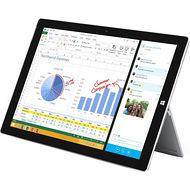 "Microsoft QF2-00019 Surface Pro 3 Tablet - 12"" - 4 GB RAM - 128 GB SSD - Windows 10 64-bit - Silver"