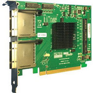 One Stop Systems OSS-PCIE-HIB38-X8-DUAL PCIe x8 Gen 3 cable adapter, two PCIe x8 cable connectors