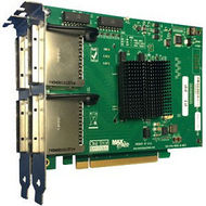 One Stop Systems OSS-PCIE-HIB38-X8-QUAD PCIe x8 Gen 3 Cable Adapter, Four PCIe x8 Cable Connectors