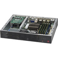 Supermicro SYS-E300-9A 1U Mini PC Server - 1 x Intel Atom C3858 12 Core 2 GHz DDR4 SDRAM - 84 W