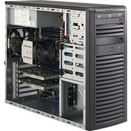 Supermicro SYS-5038A-I Mid-Tower Workstation