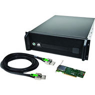 One Stop Systems EB16R-BX8-X8 16 Slot, 2 slots x16 Gen 2, 14 slots x8 Gen 2. PCIe to PCIe Expansion