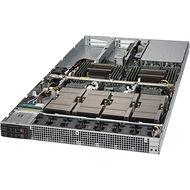 Supermicro SYS-1028GQ-TXR 1U Rackmount Barebone - 2X R3 LGA 2011 - Intel C612 - 4X P100 SXM2