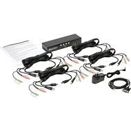 Tripp Lite B004-HUA4-K 4-Port HDMI/USB KVM Switch with Audio/Video and USB Peripheral Sharing