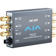 AJA 3GDA-R0 1x6 3G HD/SD SDI Reclocking Distribution Amplifier