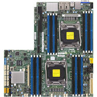 Supermicro MBD-X10DRW-IT-O PROPRIETARY - INTEL C612 - SOCKET R3 - DDR4 SDRAM - MAX: 1 TB - PCIE 3.0
