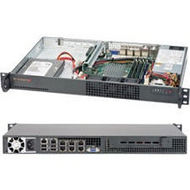 Supermicro SYS-5018A-TN7B 1U Rack Server - 1 x Intel Atom C2758 8 Core 2.40 GHz DDR3 SDRAM