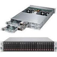 Supermicro SYS-2028TP-HC1FR SuperServer 2U Rackmount Barebone System - C612 Chipset - LGA 2011-v3