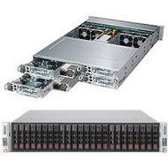 Supermicro SYS-2027PR-HC1FR 2U Rack Barebone - Intel C606 Chipset - 4 Nodes - 2X Socket R LGA-2011