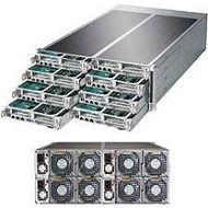 Supermicro SYS-F617R3-FTPT+ 4U 8 Node RM Barebone - Intel C602 Chipset - LGA-2011 - 2x CPU