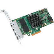 Intel I350F4BLK Ethernet Quad Port Fiber Server Adapter - Bulk