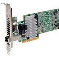 Broadcom 05-25190-02 4 Internal/External Port 12 Gb/s SAS Controller - LSI00439 / SAS 9380-4I4E SGL