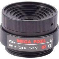 AIDA CS-6.0F CS Mount 6 mm Fixed Focal Mega-Pixel Lens