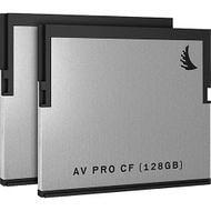 Angelbird AVP128CFX2 AVpro CFast - 128GB - 2 Pack - SD Card