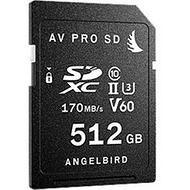 Angelbird AVP512SDV60X2 AVpro SD - 512GB - V60 - 2-Pack - SD Cards