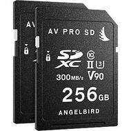 Angelbird MP-EVA1-256SDX2 Panasonic - EVA1 - 256GB - 2-Pack - SD Cards