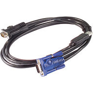 APC AP5253 KVM USB Cable - 6 ft (1.8 m)