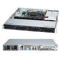 Supermicro CSE-813MTQ-R400CB 400W REDUNDANT PSU, 4X 3.5 INCH HOT-SWAP SAS2 (6GB/S) / SATA DRIVE BAY