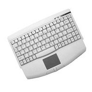 Adesso ACK-540PW Mini-Touch White Keyboard with Touchpad (PS/2)