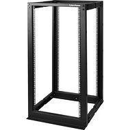 CyberPower CR25U40001 25U 19 inch 4 Post Open Frame 22-40 inch Depth Black 5-Year Warranty